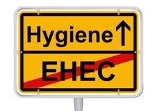 EHEC/Hygiene Vektor Abbildung