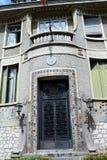 Ehemalige französische Botschaft Cetinje montenegro Stockbilder