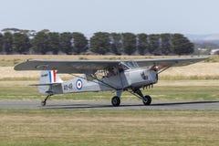 Ehemalige königlicher Australier-Luftwaffe RAAF Taylorcraft Auster M 3 einmotoriges Leichtflugzeug VH-MHT A11-49 stockfotos