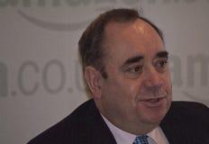 Ehemaliger erster Minister von Schottland Alex Salmond Lizenzfreies Stockfoto