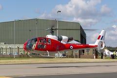 Ehemaliger Gazelle Royal Air Forces RAF Aerospatiale SA-341D HT 3 G-CBSK Stockbild