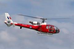 Ehemaliger Gazelle Royal Air Forces RAF Aerospatiale SA-341D HT 3 G-CBSK Stockfoto