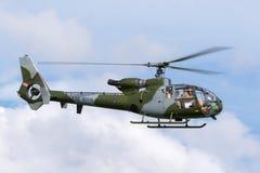 Ehemaliger königlicher Gazelle Aerospatiale SA-341C der Marineköniglichen marine HT 2 Hubschrauber G-ZZLE Lizenzfreie Stockbilder