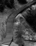Ehemaliger ockerhaltiger Steinbruch in Roussillon, Frankreich Stockfoto