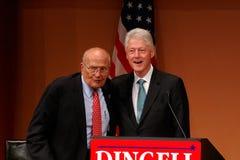 Ehemaliger Präsident Bill Clinton und John Dingell Stockfotos