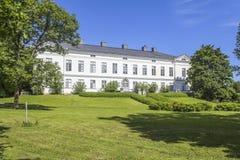 Ehemaliges Herrenhaus Stockbild