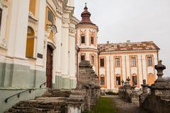 Ehemaliges Jesuit-Kloster und Priesterseminar, Kremenets, Ukraine Stockbild