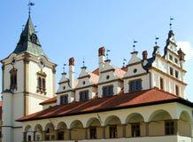 Ehemaliges Rathaus, Quadrat von Vorlagenpaul Lizenzfreie Stockbilder