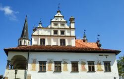 Ehemaliges Rathaus, Quadrat von Vorlagenpaul Stockfotos