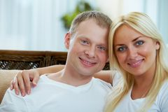 Ehemann und Frau Stockfoto
