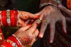 Ehering hindisch Lizenzfreie Stockfotografie