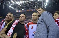 EHF欧元2016年波兰克罗地亚 免版税库存图片