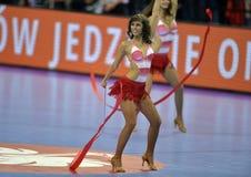 EHF欧元2016年波兰克罗地亚 免版税图库摄影