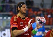 EHF Champions League Handball game Motor v Veszprem Royalty Free Stock Photography