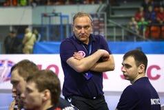 EHF Champions League Handball game Motor v Veszprem Royalty Free Stock Image