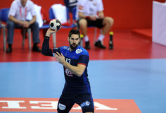 EHF euro 2016 Chorwacja Macedonia zdjęcia royalty free