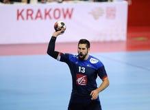 EHF euro 2016 Chorwacja Macedonia zdjęcia stock