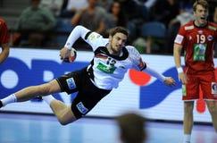 EHF EURO 2016 Duitsland Noorwegen Stock Afbeeldingen