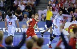 EHF EURO 2016 France Norway Royalty Free Stock Photos