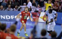 EHF EURO 2016 France Norway Stock Photos