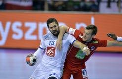 EHF EURO 2016 France Norway Stock Photo