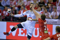EHF EURO 2016 France Norway Stock Images