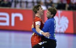EHF EURO 2016 France Norway Stock Image