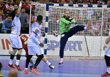 EHF EURO 2016 France Norway Royalty Free Stock Images