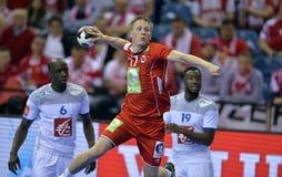 Ehf-EURO Frankreich 2016 Norwegen Lizenzfreie Stockfotografie