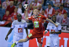 Ehf-EURO Frankreich 2016 Norwegen Lizenzfreies Stockbild