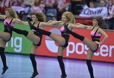 EHF EURO 2016 Frankrijk Noorwegen Royalty-vrije Stock Fotografie