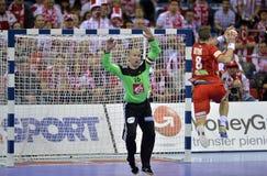 EHF EURO 2016 Frankrijk Noorwegen Stock Fotografie