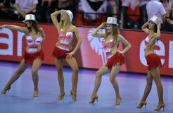EHF EURO 2016 Poland Croatia Royalty Free Stock Photography
