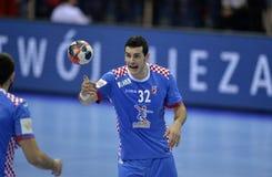 EHF EURO 2016 Poland Croatia Stock Photo
