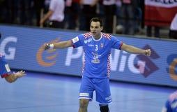 EHF EURO 2016 Poland Croatia Royalty Free Stock Images