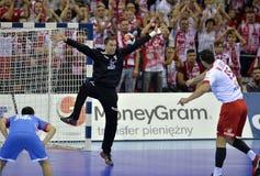 EHF EURO 2016 Poland Croatia Stock Image