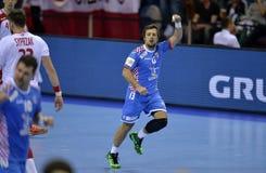 EHF EURO 2016 Poland Croatia Royalty Free Stock Image