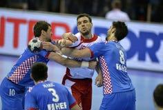 Ehf-EURO Polen 2016 Kroatien Stockbilder
