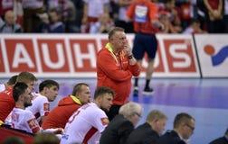 Ehf-EURO Polen 2016 Kroatien Stockbild