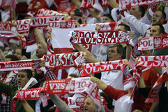Ehf-EURO Polen 2016 Kroatien Stockfotografie
