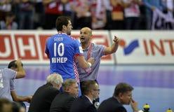 Ehf-EURO Polen 2016 Kroatien Lizenzfreie Stockfotografie
