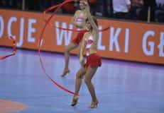 Ehf-EURO Polen 2016 Kroatien Lizenzfreies Stockbild