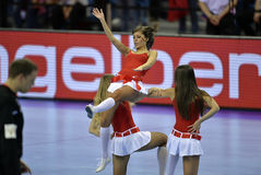 EHF euro 2016 Polska Chorwacja Zdjęcie Stock