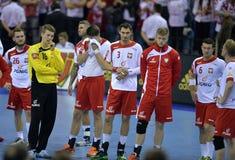 EHF euro 2016 Polska Chorwacja Zdjęcia Royalty Free
