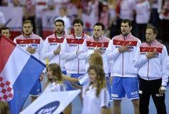 EHF euro 2016 Polska Chorwacja Obraz Stock