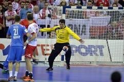 EHF euro 2016 Polska Chorwacja Zdjęcia Stock