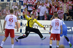 EHF euro 2016 Polska Chorwacja Fotografia Stock