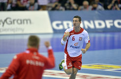 Ehf-EUROPolen Kroatien 2016 Arkivfoton