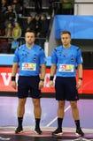 EHF van het het Handbalspel van de Kampioenenliga Motor v Veszprem royalty-vrije stock fotografie