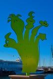 Ehind the Puppetree - Smadar Samson. SAN DIEGO, CALIFORNIA - NOVEMBER 11: Urban Trees 7 Collection - Port of San Diego Public Art Program on November 11, 2010 in Stock Image